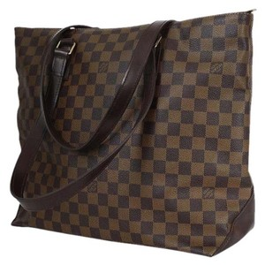 Louis Vuitton Limited Edition Tote in Damier Ebene