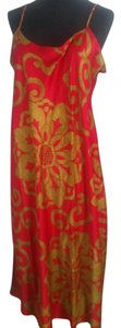 Natori short dress Red Gold on Tradesy