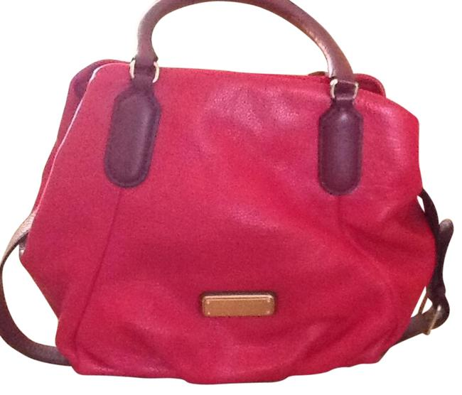 Item - Q Fran Multi Red Leather Tote