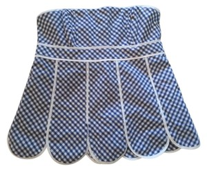 Lilly Pulitzer Gingham Checked Top Blue
