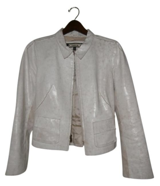 Preload https://item5.tradesy.com/images/bebe-distressed-white-leather-jacket-size-4-s-16109-0-0.jpg?width=400&height=650