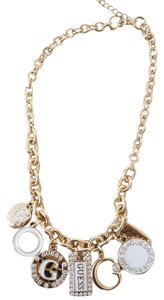 Guess NWT Guess Chunky Charm Necklace