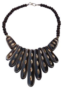 India Wood Necklace w Free Shipping