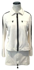Chanel Chanel Mesh Sport Jacket and Mini Skirt Set