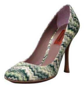 Missoni Green Pumps