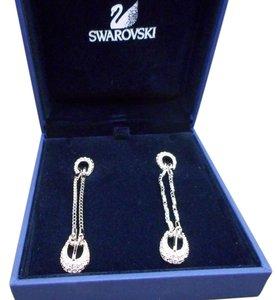 Swarovski Swarovski Buckle Earrings
