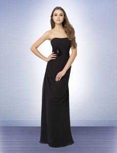 Bill Levkoff Black Strapless Dress Dress