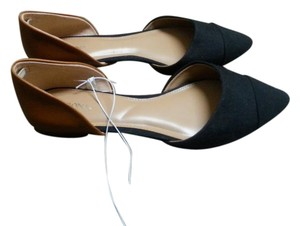 Merona Black/brown Flats