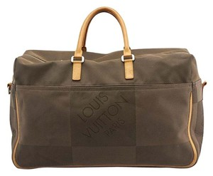 Louis Vuitton Damier Brown,Beige Travel Bag