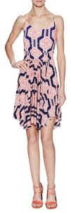 T-Bags Los Angeles short dress Navy pink Fourth Of July on Tradesy