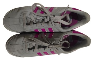 adidas Silver and purple Athletic