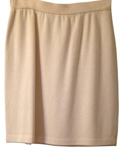 St. John Mini Skirt Cream