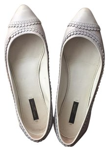 Louis Vuitton light grey/ light pale blue Flats