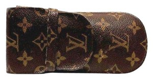 Louis Vuitton Authentic Louis Vuitton Monogram Canvas Glasses Case