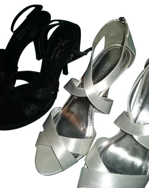 Item - White and Black Formal Shoes Size US 8.5 Regular (M, B)