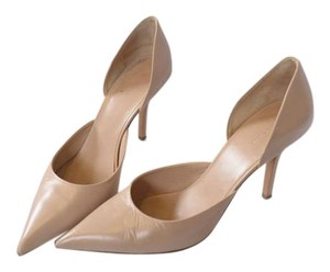 Cline Parisian Designer Nude Pumps