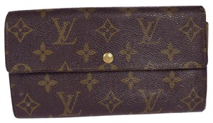 Louis Vuitton Louis Vuitton Monogram Sarah Long Wallet