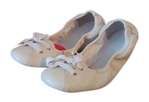 Bally Bow White Flats
