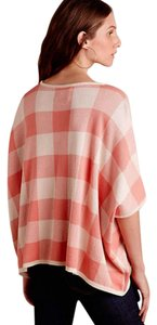 Anthropologie Gingham Plaid Sweater