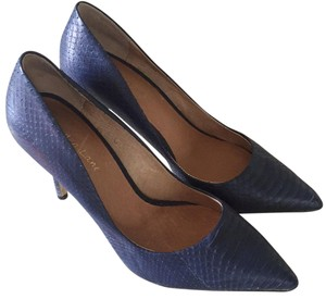 Maiden Lane Midnight blue Pumps