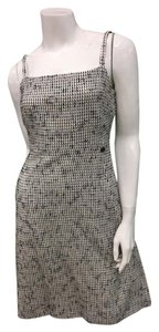 Chanel short dress black and White Jackie O Tweed Classic Coco on Tradesy