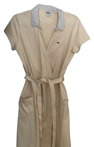 Lacoste short dress Cream on Tradesy