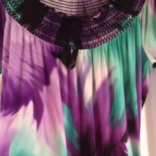 HeartSoul Top Black, Lilac, Aqua, white