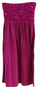 ludi short dress fuschia on Tradesy