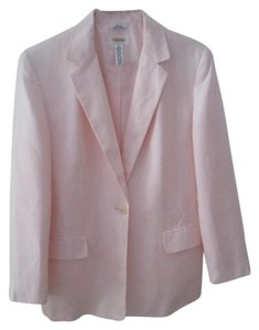 Talbots light pink Blazer