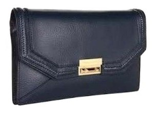 BCBGMAXAZRIA Purse Bcbg NAVY BLUE Clutch