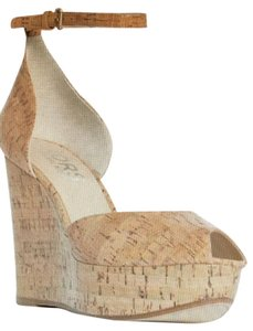 Michael Kors Cork Wedges