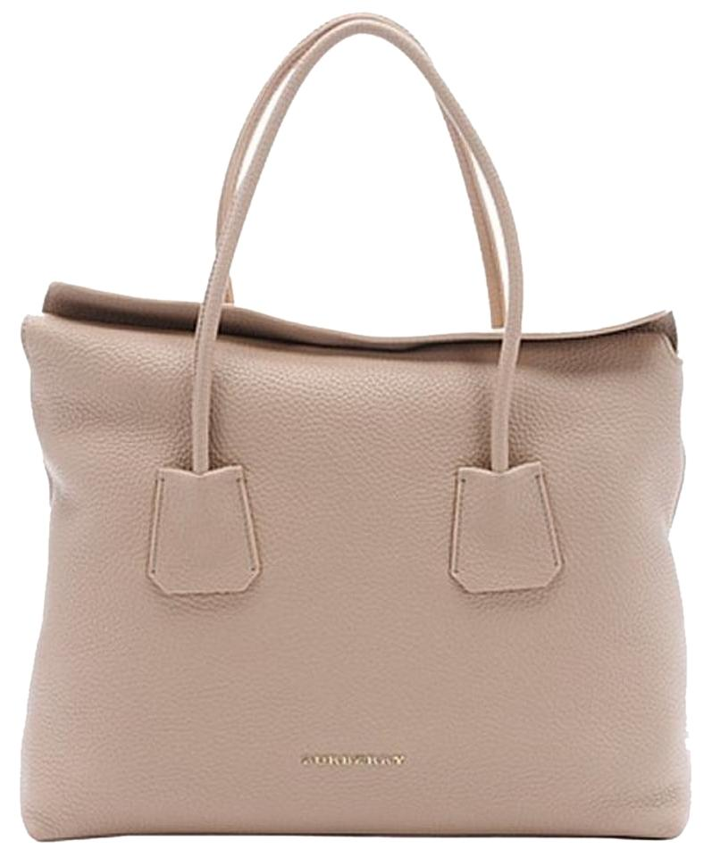 b71c5b9474 Burberry London Grainy Medium Baynard Light Nude Leather Tote - Tradesy