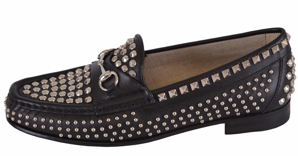 c2390935befe Gucci Loafers Womne s Loafers Loafers Studded Loafers Black Flats Image 8.  123456789