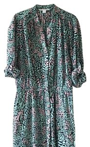 Diane von Furstenberg short dress Leopard print on Tradesy