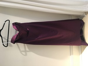 Badgley Mischka Eggplant Bm15-14 Dress