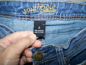 South Pole Collection Size 3 Straight Leg Jeans-Medium Wash