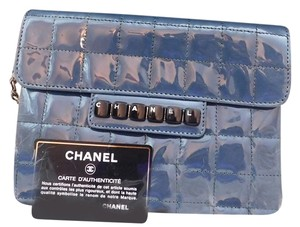 Chanel Navy blue Clutch