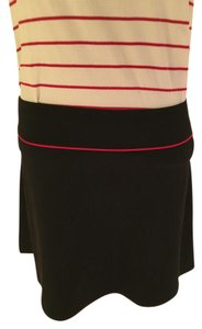 Ralph Lauren Mini Skirt Black with red accent line
