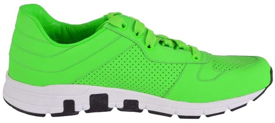 73dee7925 Gucci Neon Green New Men's 369088 Tennis Us. Sneakers Size US 11.5 ...