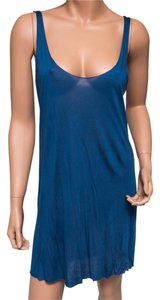Yigal Azrouël short dress Blue Azrouel Racer Back on Tradesy