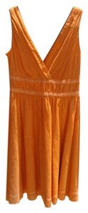 Calvin Klein short dress orange Cotton on Tradesy