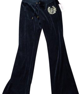 Juicy Couture Wide Leg Pants Black