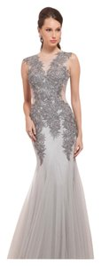 Mignon Sequin Mermaid Style Gown Dress