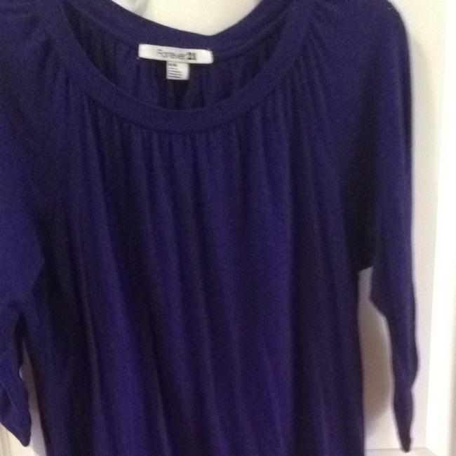 Forever 21 Top Plum