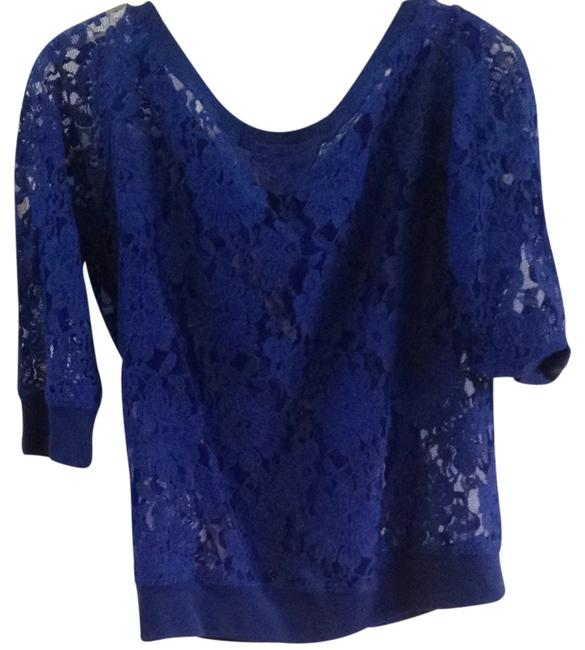 Preload https://item5.tradesy.com/images/express-royal-blue-blouse-size-4-s-1612049-0-0.jpg?width=400&height=650