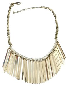 Macy's Gold Statement Necklace