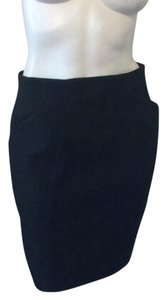 Mugler Mini Skirt Black