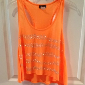 Wet Seal Top Orange
