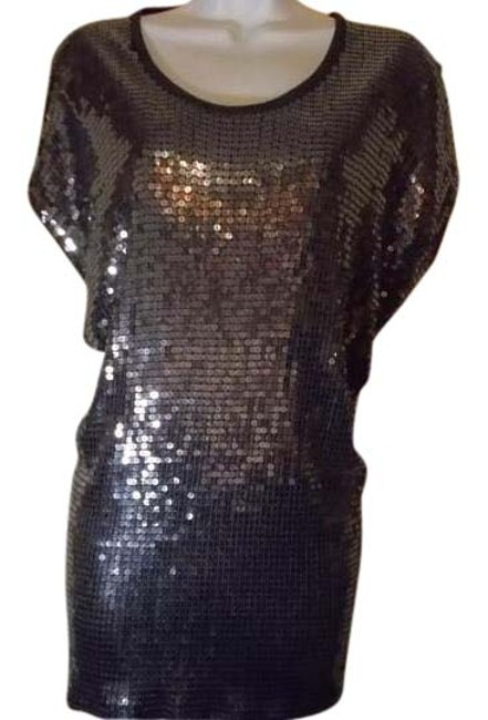 Item - Sequined Silver Top