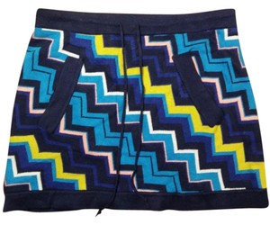 Missoni for Target Mini Skirt Blue